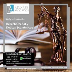 Abogados Derecho Penal y Delitos Económicos. https://alvarezabogadostenerife.com/?p=13089