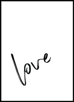 Love note Poster