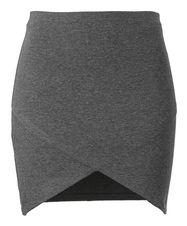GIna Tricot, Krissy skirt, greymelange, 99 DKK