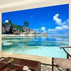 3D Ocean Sea Beach