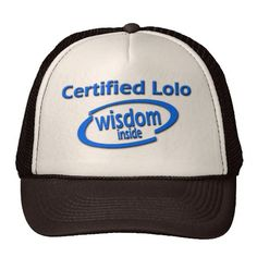 "Filipino Lolo Gift – Certified Lolo Wisdom Inside Trucker Hats. Certified Lolo Wisdom Inside Tee Shirts. Affirm Lolo (Filipino Grandpa) for his wisdom that stands the test of time. Certified by generations, grandfathers are known for their wisdom and good counsel. Features a modern look and a funny parody of ""Intel Inside"" A thoughtful gift for Father's Day, Grandfather's Day, Lolo's birthday, Christmas, celebrating a new Grandpa from the birth of a new grandbaby or apo."