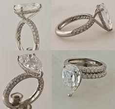 4 carat diamond engagement ring:)