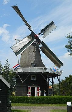 Flour and grinding mill De Verwachting, Hollum (Ameland),  The Netherlands