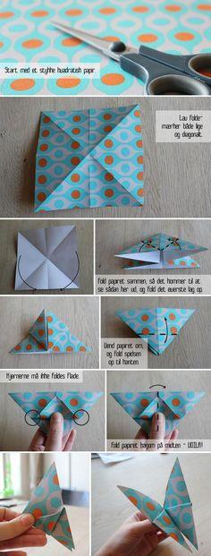 DIY Sommerfugle DIY Origami DIY Craft