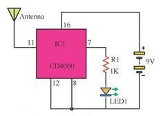 Basic Electronic Circuits, Electronic Circuit Projects, Electronic Schematics, Electronic Books, Electronic Engineering, Electronics Mini Projects, Electronics Basics, Hobby Electronics, Electronics Components
