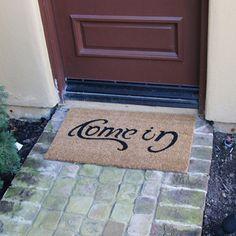 Rubber-Cal 'Come In' Welcome Door Mat (18 x 30) - Overstock Shopping - Big Discounts on Rubber-Cal Door Mats