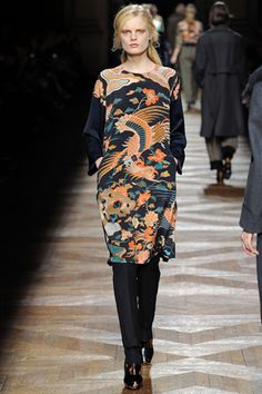 Dries Van Noten aw 2012