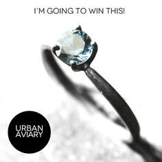 I'm pinning to win this London Blue Topaz ring by Urban Aviary! Tags: #urbanaviary $140 #wedding #jewelry #ring #topaz #giveaway #oxidized #blue #londonblue @urbanaviary #iwantthis #solitaire #alternative #fab.com #gemstones
