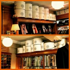 Fully re stocked with hats from Lock & Co of St James's, London, at Rhodes-Wood, Parliament Street, Harrogate.