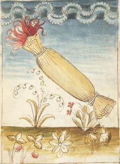 Bellifortis VerfasserKyeser, Conradus  ErschienenElsaß, [um 1460] Ms. germ. qu. 15  Folio 85r