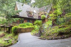 Mill Valley, CA // Charming home in a magical setting