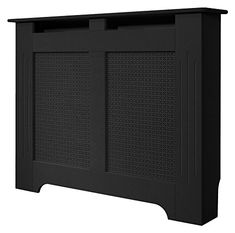 Adam Medium Radiator Cover, 120 cm, Black