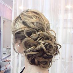 20 Swept-Back Wedding Hairstyles | http://www.meetthebestyou.com/20-swept-back-wedding-hairstyles/