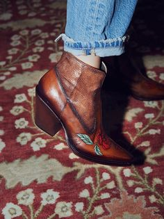 J Ghost Desert Rose Western Boot at Free People Clothing Boutique