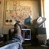 """Doing a little cutting on some """"Family Trees"""" today. We got some rain last night (see my boots)  Tomorrow is the Big move to the new shop....God Bless Texas  #$1.75cigars #madeintexas #jdhirondesigns #mebeingme #letsdothis"""