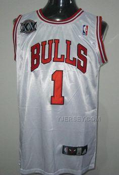 http://www.yjersey.com/nba-chicago-bulls-1-rose-white-20th-anniversary-jerseys.html NBA CHICAGO BULLS 1 ROSE WHITE 20TH ANNIVERSARY JERSEYS Only 34.00€ , Free Shipping!