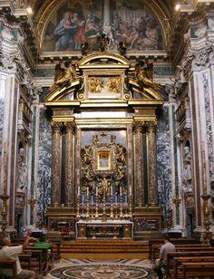 Basilica of Santa Maria Maggiore (St. Mary Major), Rome ~ Pauline Chapel housing the Salus Populi Romani icon of Mary