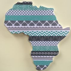 Wall Decor, Wall Art, My Etsy Shop, African, Trending Outfits, Unique Jewelry, Handmade Gifts, Pink, Blue