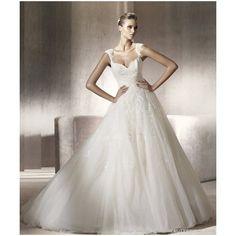 Vestido de noiva estilo princesa ❤ liked on Polyvore featuring vestidos, casamento and noiva