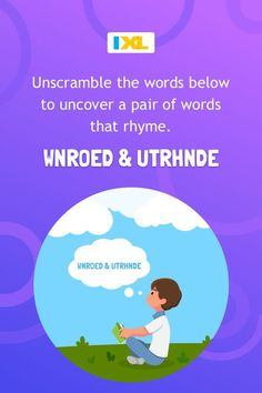 Here's a #WordPuzzle tip: to make word scrambles a little easier, try separating the vowels from the consonants. New Puzzle, Rhyming Words, Word Puzzles, Brain Teasers, Online Art, Language Arts, Cool Words, Centre, Writer