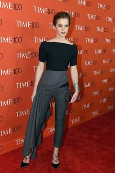 Emma Watson   31 Celebrities On Their First Red Carpets Compared To Now