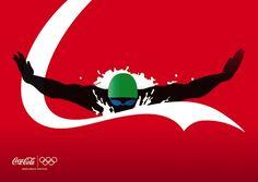 no logo ad from Coca Cola, designer: Bill Biancoli