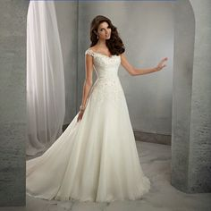 2017 new lace wedding dress a line off the shoulder beading bridal gowns with sweep train Vestidos De Noiva