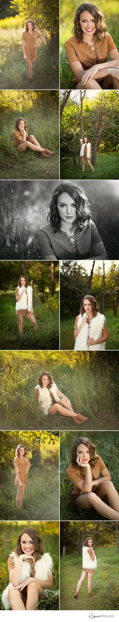 d-Squared Designs Columbia, MO Senior Photography. Fall senior photography. Senior girl photography. Posing ideas. Pretty girl senior.