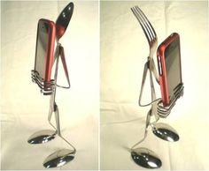 Vintage Silverware Art
