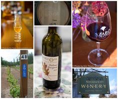 Trying to decide which bottle to bring to your holiday meal?  Lots of local wineries in Nevada City, Grass Valley, photos by Erin Thiem/Outside Inn