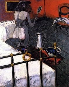 Auguste Chabaud, Nude with Copper Bed, c.1907