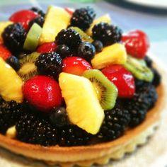 Whole foods fruit tart!