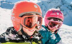 Obergurgl kids in snow