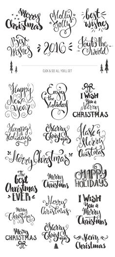 Handdrawn Christmas Photo Overlays by Favete Art on Creative Market: