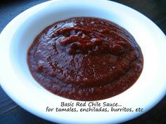 Home Cooking In Montana: Basic Red Chile Sauce...great for enchiladas,burritos, tamales,etc,