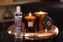 Ebène & Cuir, collection de parfum d'intérieur - home fragrances
