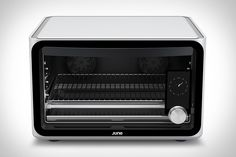 The June Oven has better specs than the new MacBook and was designed by former Apple and Path engineers - Micro Oven, Countertop Convection Oven, Microwave Oven, Domestic Appliances, High Tech Gadgets, Electronics Gadgets, Id Design, New Macbook, Electric Oven