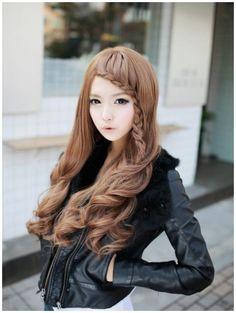 Kawaii Hairstyles, Pretty Hairstyles, Hair Rainbow, Auburn Hair, Asian Hair, Face Hair, Hair Dos, Gorgeous Hair, Just In Case