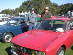 Don & Dave with his Alfa