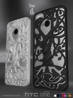 """HTC ONE case """"Tree of life"""" Made to pre-oder (3d printed strong&flexible)"""