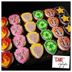 12 Paw Patrol Edible Badges CupCake or Cookie by EdibleEverything