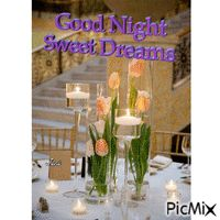 Good night Good Night, Table Decorations, Nighty Night, Have A Good Night, Dinner Table Decorations, Center Pieces