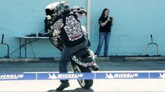 Stunt Bike Riding Show Continued [Anger Management]