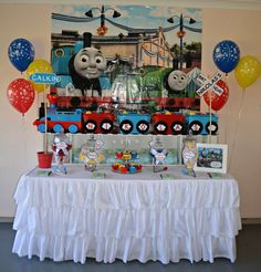 Thomas The Tank Engine Birthday Party Ideas | Photo 2 of 19 | Catch My Party