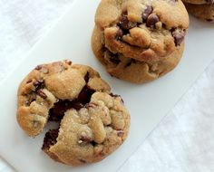 Channeling Contessa: Nutella Stuffed Brown Butter & Sea Salt Chocolate Chip Cookies