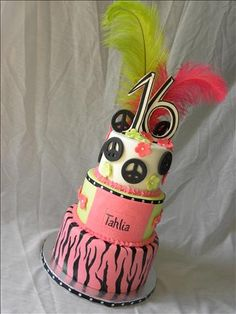 Sweet 16 Cake    made by: The Sweet Divine