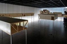 japan-architects.com: 「五十嵐淳展 状態の構築」会場レポート