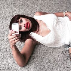 Taking aim? Blac Chyna appeared to take a swipe at herhttp://bit.ly/1Oe8oro rumoured love rival Kylie Jenner wi...