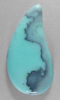 BLUE OPALfrom Peru designer cab Silverhawk's designer gemstones.