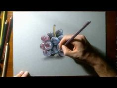 How to draw grapes - YouTube